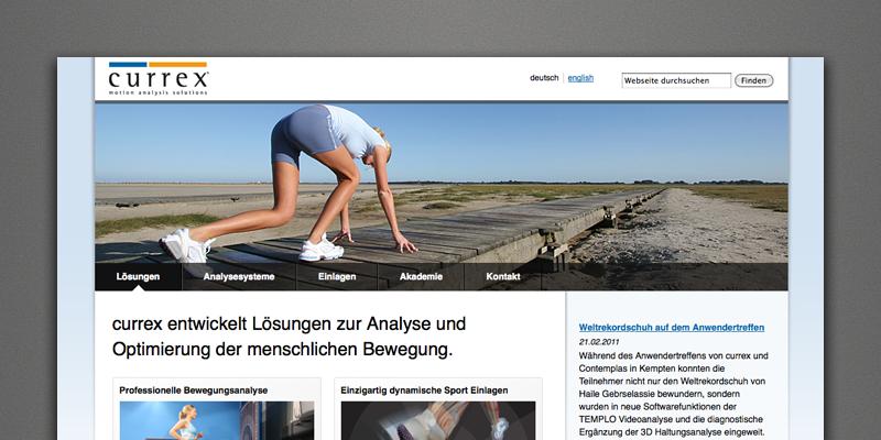 currex Webseite