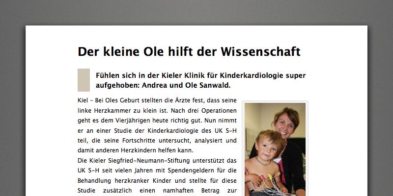 Siegfried Neumann Stiftung Fundraising 2.0
