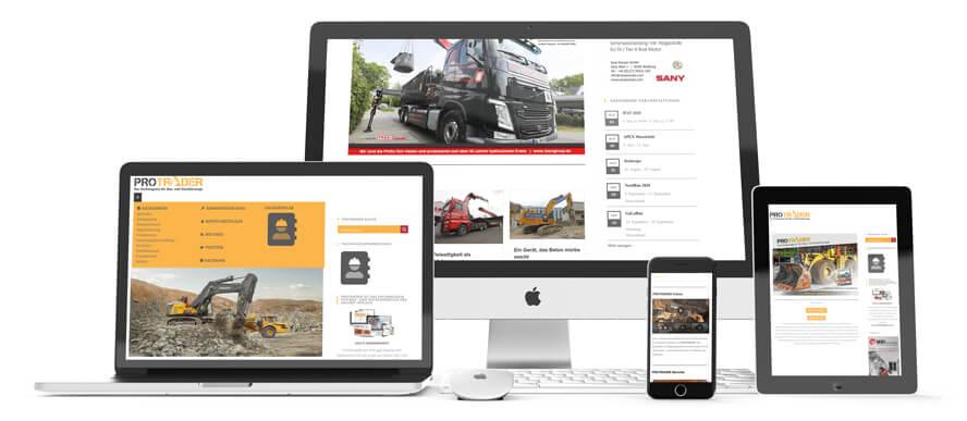 PROTRADER.ONE - Fachmagazin für Bau- & Nutzfahrzeuge